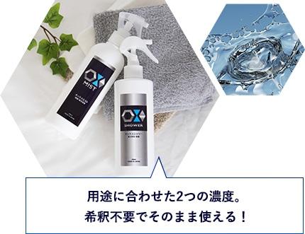 OXシリーズは長期保存も可能
